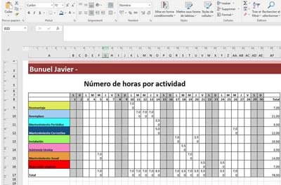Planilha de Excel para business plan