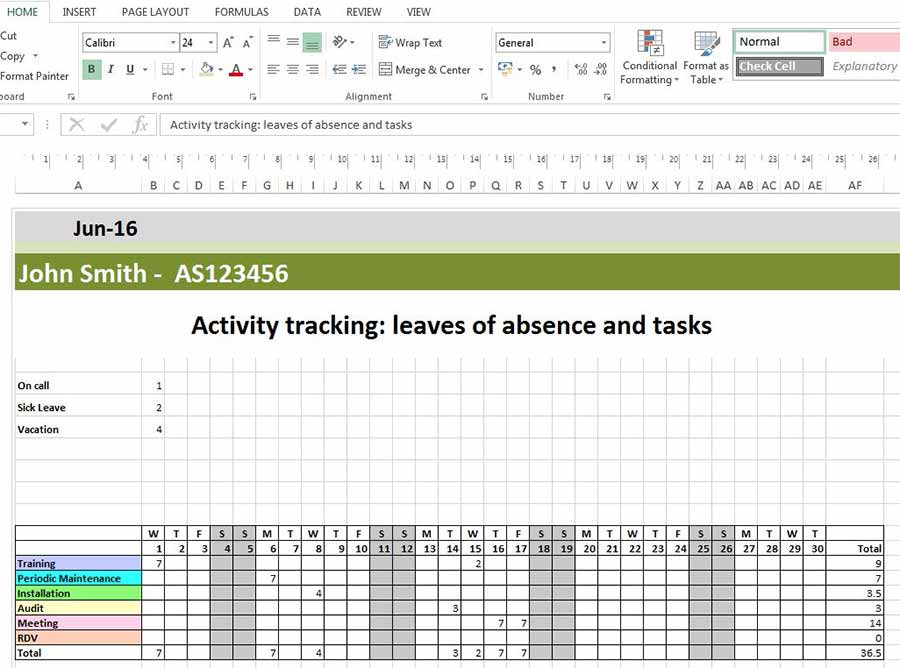 Plantillas de programación de Excel para descargar de forma gratuita